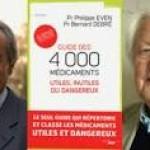 80% des médicaments ne servent à rien par le professeur Philippe Even